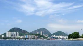 Spektakularna panorama Rio De Janeiro zdjęcia stock