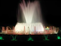 spektakularne fontanna fotografia stock