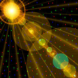 spektakularne kosmicznych Obraz Royalty Free