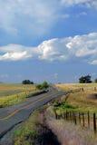 spektakularne wiejskiego drogowy Zdjęcia Stock