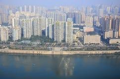 Spektakularny Chongqing przy Eling parkiem Obrazy Stock