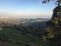 Spektakularny Costa Del Zol widok Estepona Zdjęcie Stock