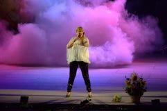Spektakularny dymu scena Obraz Royalty Free