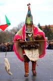 Spektakularny Karnawałowy mummer Fotografia Stock