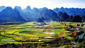 Spektakularny krasu krajobraz fotografia stock