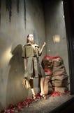 Spektakularny nadokienny pokaz przy Ralph Lauren w NYC Obraz Royalty Free