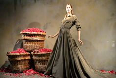 Spektakularny nadokienny pokaz przy Ralph Lauren w NYC Zdjęcia Royalty Free