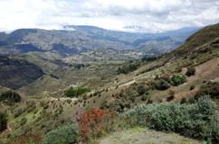 Spektakularny widok Ekwadorscy Andes Fotografia Royalty Free