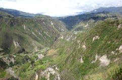 Spektakularny widok Ekwadorscy Andes Obraz Royalty Free
