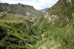Spektakularny widok Ekwadorscy Andes Obrazy Royalty Free