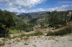 Spektakularny widok Ekwadorscy Andes Zdjęcie Royalty Free