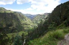 Spektakularny widok Ekwadorscy Andes Zdjęcia Royalty Free
