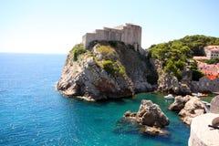 Spektakularny widok w Dubrovnik Fotografia Stock