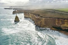 Spektakularny widok Wielka ocean droga Obraz Royalty Free