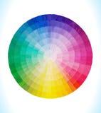 Spektral- cirkel Arkivfoton