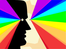 Spektral- folk Royaltyfri Bild