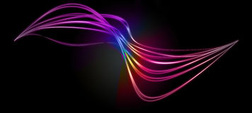 Spektralmusterhintergrund   vektor abbildung