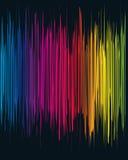 Spektralparty-Plakat Stockfotografie