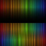 Spektrum der Leuchte Stockfoto