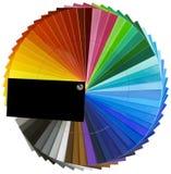 Spektrumrad-Skalaausschnitt Lizenzfreie Stockfotografie