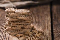 Spekulatius cuit au four frais (cuisine allemande) Images libres de droits