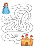 Spel 23, benoeming in het kasteel stock illustratie