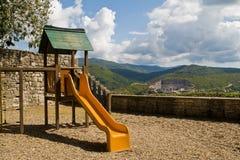 Spel in bergen Stock Afbeeldingen