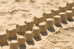 Spel in een zandbak Royalty-vrije Stock Afbeelding