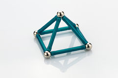 Spel geometrische bouw Royalty-vrije Stock Afbeelding