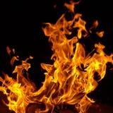 Spel met brand! stock fotografie