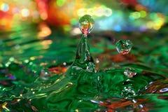 Spel met water Royalty-vrije Stock Afbeeldingen
