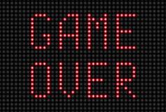 Spel over bericht Stock Foto's