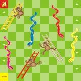 Spel-slangen royalty-vrije illustratie