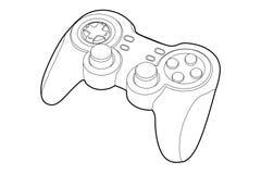 Spel-stootkussen Stock Afbeelding