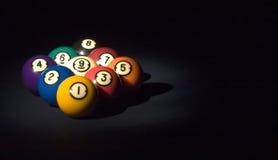 Spel van bal 9 Stock Foto