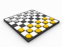 Spel van controleurs stock illustratie