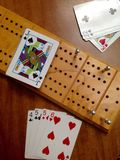 Spel van cribbage Royalty-vrije Stock Foto