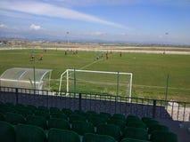 Spel van de Amatörid het jeugdige voetbal stock foto's
