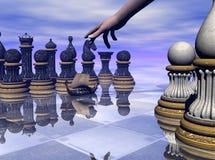 Spel van de Meesters royalty-vrije illustratie