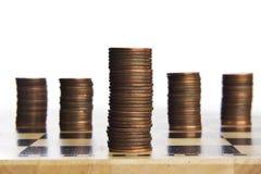 Spel van het maken van geld stock fotografie