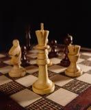 Spel van het schaak (1) Stock Afbeeldingen