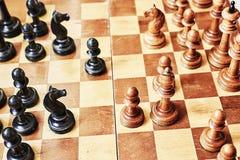 Spel van schaak Stock Foto