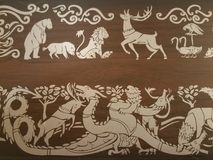 Spel van tronen Stock Afbeeldingen
