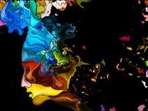 Spel van Zelffragmentatie vector illustratie
