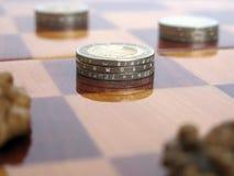 Spel voor geld royalty-vrije stock afbeeldingen