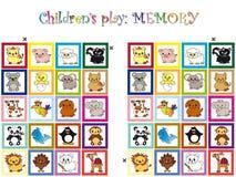 Spel voor kinderen Stock Foto
