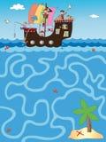 Spel voor kinderen Royalty-vrije Stock Foto's