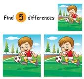 Spel voor kinderen Royalty-vrije Stock Afbeelding