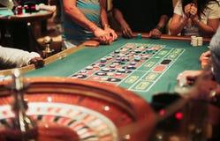 Spela för kasinoroulett Royaltyfri Fotografi