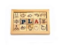 Spela för leksak Royaltyfria Foton